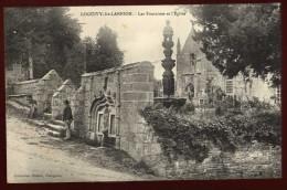 Cpa Du 22  Loguivy Lès Lannion Les Fontaines Et L' église    ...  édition Hamon Guingamp      PLES13 - Lannion