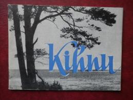 Kihnu Island - Mini Travel Photo Book  - 32 Pages - 1964 - Estonia USSR - Livres, BD, Revues