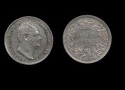 GRANDE - BRETAGNE . GUILLAUME IV . ( 1764 à 1837 ) . 1 SCHILLING . 1834 . - 1816-1901 : Frappes XIX° S.