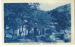 CPA 04 SAINT MARTIN LES EAUX LES ANCIENNES MINES  AUTO - France