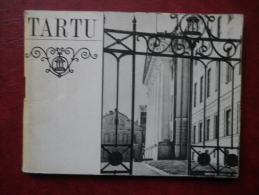Tartu - Mini Travel Photo Book  - 32 Pages - 1970 - Estonia USSR - Livres, BD, Revues