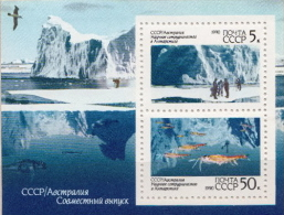 Soviet Union MNH SS - Polar Philately