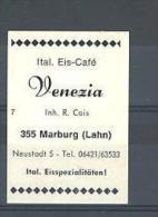 MARBURG ITALIAN EIS-CAFE' VENEZIA - Cinderellas