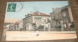 Juvisy - Rue De La Poste - Café Restaurant Hotel De La Poste - Juvisy-sur-Orge