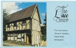 Nottinghamshire Postcard - The Lace Centre, 'Severns' Building, Castle Road, Nottingham  A3904 - Nottingham