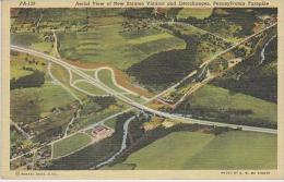 Pennsylvania Bedford Aerial View Of New Station Viaduct And Inte