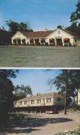 Pennsylvania Hazleton Front And Rear View Of Motel Gus Genetti I