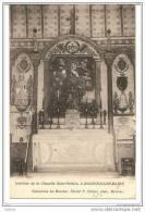 Bagnols-les-Bains (Lozère) 48, Intérieur De La Chapelle St Saint Ortaire, Recto-Verso, Circulée, Semeuse 25c Bleu - France