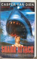 K7,VHS. SHARK ATTACK. Casper VAN DIEN. - Action, Aventure