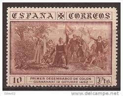ES545-A546THIA.España Spain Espagne DESCUBRIMIENTO DE AMERICA.COLON. 1930 (Ed 545*) Con Charnela MAGNIFICO - American Indians