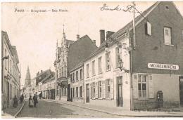 PUERS / PUURS - Hoogstraat - Rue Haute (1906) !! Brouwerij Het Hof !! Uitg. Baeté-d'Hooghe (De Graeve) - Puurs