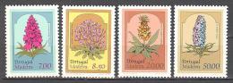 Madeire: Yvert  78/81**/MNH; Fleurs; PETIT PRIX!!! LIQUIDATION!!! A PROFITER!!! - 1910-... Republic