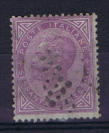 Italie 1863 Sa/Mi 21, Used - 1861-78 Vittorio Emanuele II