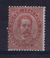 Italie 1878   Sa 38 MH/*,