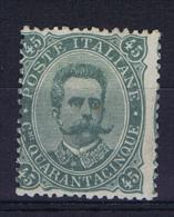 Italie 1889   Sa 46  MH/* Mi 51, Signed