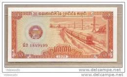 Cambogia - Banconota Non Circolata Da 0,5 Riels - 1979 - Cambodja