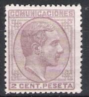 01815 España Edifil 190 (*) Cat. Eur. 52,- - 1875-1882 Royaume: Alphonse XII