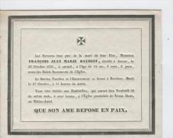Bauduin François, Anvers 23 Octobre 1835 - Obituary Notices