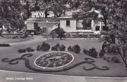 GENEVE  L´horloge Fleurie - GE Ginevra