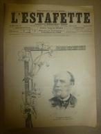 1899  L´ESTAFETTE : Trucs Et Ficelles Pour Vivre Aux Dépends Des Concitoyens;Festin Au Moyen-âge; Procès DREYFUS Témoins - 1850 - 1899