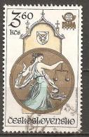 TIERKREISZEICHEN WAAGE - CSSR 1978 O - Astrologie