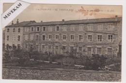 """Cpa """" L´Auvergne -62 -Vertolaye -L´Usine De Soie Gauthier - G.d´O - Autres Communes"""