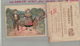 LITHOGRAPHIE, PHOSPHATINE FALIERES, LORRAINE , Par Illustrateurs,  Jean Matet,       AVRIL 2013  1218 - Chromo