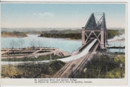 Pont De Québec Bridge - État TB - VG Condition - Librairie Garneau - Québec - Les Rivières