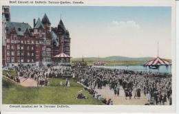 Québec - Concert Musical Terrasse Dufferin - Animée Animated - État TB - VG Condition - Garneau - Québec - Château Frontenac