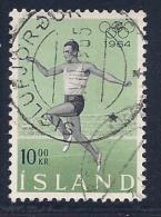 Iceland, Scott # 369 Used Jumper, 1964 - Gebruikt