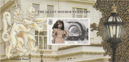 Tuvalu 1999 Queen Mother Century Souvenir Sheet  MNH - Tuvalu
