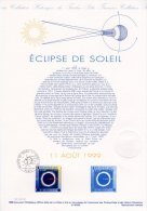 """Document Officiel DPO 1999 N° 21 99 552 """" ECLIPSE DE SOLEIL """" N° YT 3261 + Prix Dégressif !"""