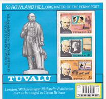 Tuvalu 1979 Rowland Hill Souvenir Sheet  MNH - Tuvalu