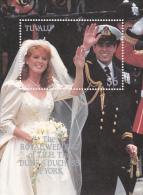 Tuvalu 1986 Royal Wedding Mini Sheet  MNH - Tuvalu