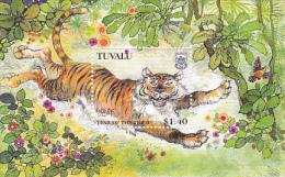 Tuvalu 1998 Year Of  The Tiger Mini Sheet  MNH - Tuvalu