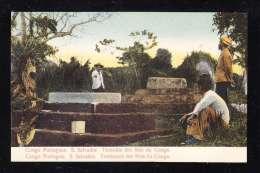 PT1-16 CONGO PORTUGUEZ S.SALVADOR TUMULOS DOS REIS DO CONGO - Angola