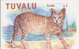 Tuvalu 2000 Cat  Mini Sheet  MNH - Tuvalu