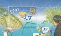 Tuvalu 2001 Television Souvenir Sheet  MNH - Tuvalu