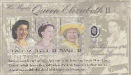 Tuvalu 2002 50th Anniversary Coronation Queen Elizabeth Sheetlet  MNH - Tuvalu