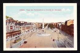 PT1-33 LISBOA PRACA DOS RESTAURADORES E AVENIDA DA LIBERDADE - Lisboa