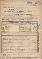 ^ PAGANI SALERNO FANTERIA AMENDOLA FOGLIO MATRICOLARE DOCUMENTO MILITARE 16 - Documents Historiques