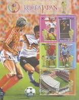 Tuvalu 2002 World Cup Soccer Sheet  MNH - Tuvalu