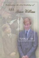 Tuvalu 2003 21st Birthday Prince William MS  MNH - Tuvalu