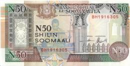 SOMALIE - 50 Shilin 1991 UNC - Somalia
