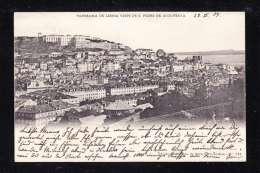 PT1-63 PANORAMA DE LISBOA VISTO DE S. PEDRO DE ALCANTARA - Lisboa