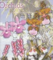 Tuvalu 2003 Orchids Sheetlet  MNH - Tuvalu