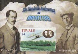 Tuvalu 2003 Powered Flight Centenary MS  MNH - Tuvalu