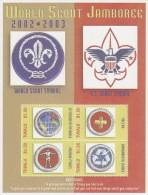 Tuvalu 2003 Scout  Sheetlet  MNH - Tuvalu