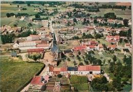 QUEVY LE PETIT Vue Générale Aérienne Panorama Eglise Village - Quévy