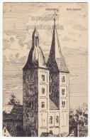 GERMANY - ALTENBURG - ROTE SPITZEN - SCETCH ILLUSTRATION - Ca 1910s Vintage Postcard  [5762] - Altenburg